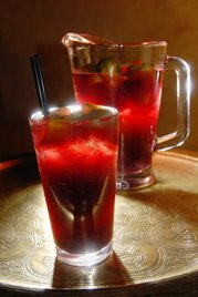 blood red sangria
