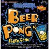 halloween beer pong game