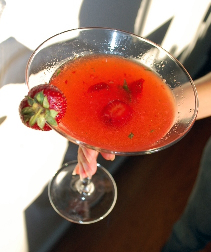 Strawberry Tarragon Cocktail - Drink of the Week