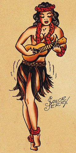 The innate coolness of sailor jerry spiced rum drink of for Sailor jerry pin up tattoos