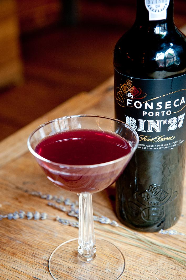 this sophisticated valentines day cocktail was created by the professor david wondrich the sweet almost fruity port and rum in this drink will have you - Valentine Drink