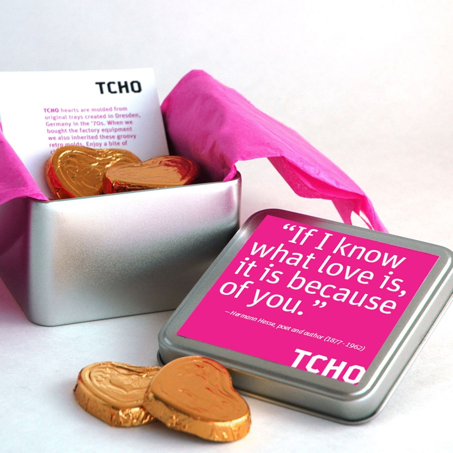 TCHO Valentine's Chocolate